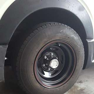 Hiace Rims. New. Super Offset -25. 15 Inch. For The Off Road Mad Max Look. Order 4weeks Reach. Toyota Hiace Pcd 6x139.7 Euro 3 Euro4 Euro5 Euro6