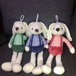Bunny stuffed toy bundle