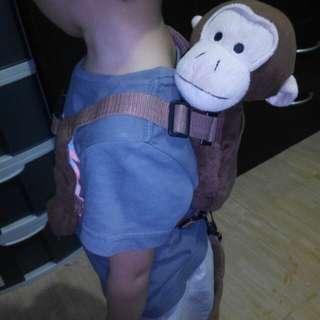Cute Monkey Child Safety Harness
