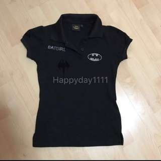 Authentic batman polo shirt