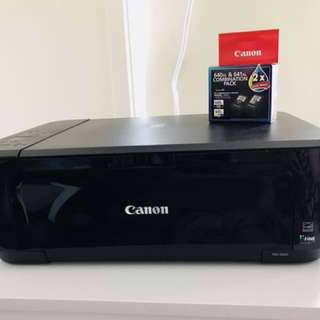 Canon Printer & Scanner + free REFILL cartridges