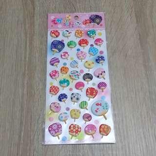 日本和風扇sticker