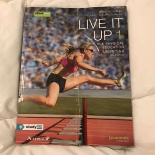 Unit 1 and 2 PE textbook