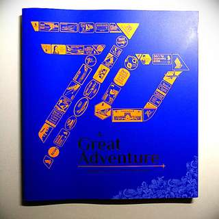 "Singapore Airlines 70th Anniversary Book ""A Great Adventure"""