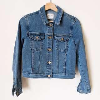 NEW Rare Abrand A Squad Denim Jacket - shop rachelteetyler wardrobe