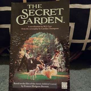 "Children's or Young adult fiction ""The Secret Garden"""
