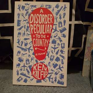"Young adult fiction ""A Disorder Particular To The Country"""