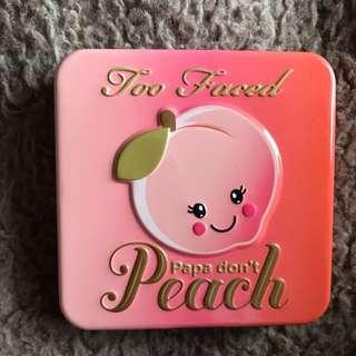 Too Face Papa Don't Peach Blush