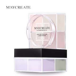 MAYCREATE 4 colours Oil Control Loose Powder #20under