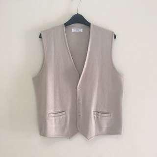 Nude Pastel Boyish Vest