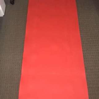 Foam yoga mat