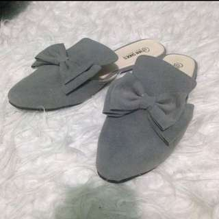 NEW ribbon flat shoes