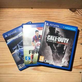 PS Vita Games set