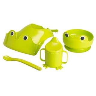 IKEA Baby Eating Set - Frog Green