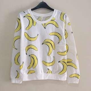Banana Sweatshirt Sweater