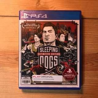 Brand New PS4 Sleeping Dogs