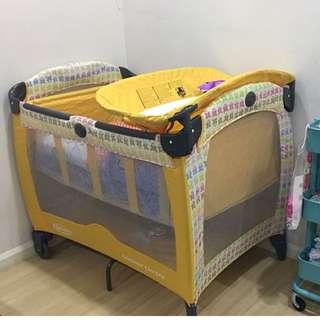 Preloved GRACO Contour Electra baby cot/playpen