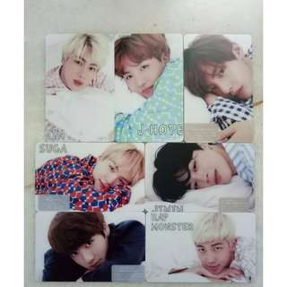 [Clear Stock Price] BTS unofficial cardstickers