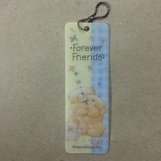 Forever friends bookmark