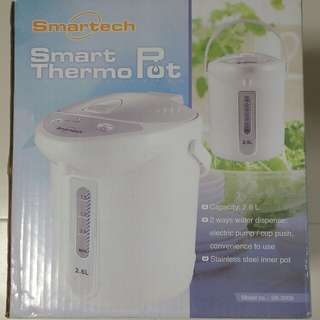 Smartech 2.6L Thermo Pot 電熱水壼 (全新)