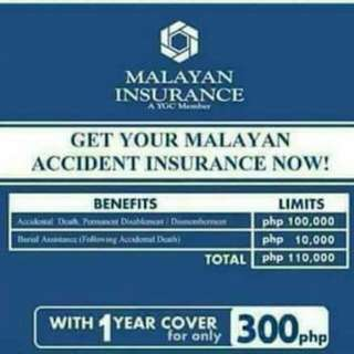 Malayan Personal Accident Insurance