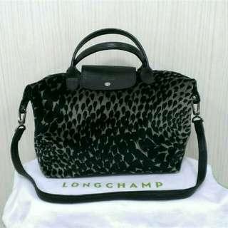 Longchamp手提斜背包