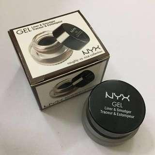 NYX Gel Liner & Smudger in Dark Brown