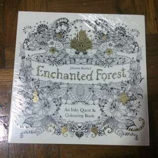 Adult Coloring Book Enchanted Forest By Johanna Basford