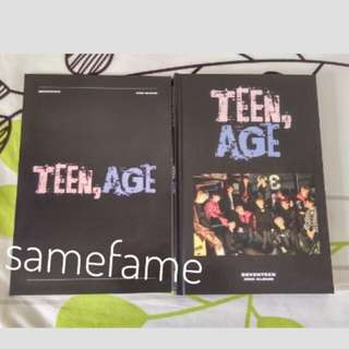 [Album Only] SEVENTEEN TEEN,AGE album RS version