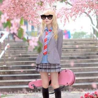 Shigatsu Wa Kimi No Uso Female Cosplay Outfit