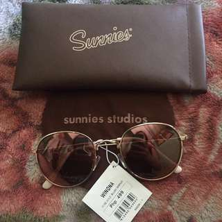 Sunnies Winona Rose Gold