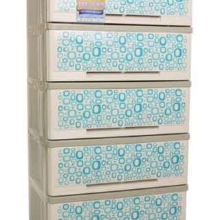 Orocan Milano 5 drawers