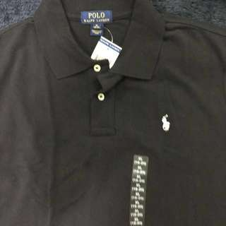 Ralph Lauren Black Polo Shirt