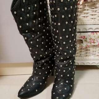 搬家大清倉-型款窩釘boots