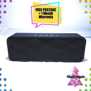 #CyberMondaySale Wireless Black Bluetooth Speaker