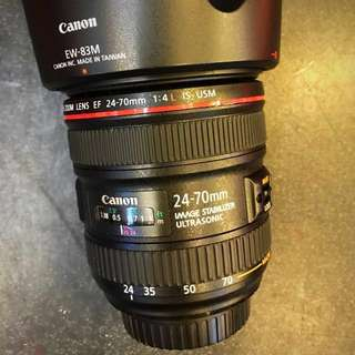 Canon 24-70 F4 IS USM (附保護鏡)