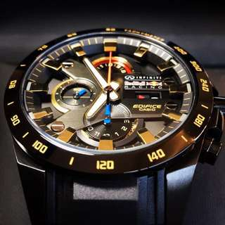 Brand New Casio Edifice Infiniti Limited Edition RedBull Watch (NEGOTIABLE)