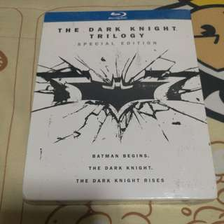 Brand new sealed blu ray bluray batman the dark knight trilogy set not star wars avengers transformers
