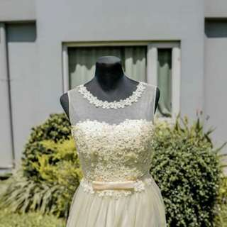 Pre loved Wedding gown