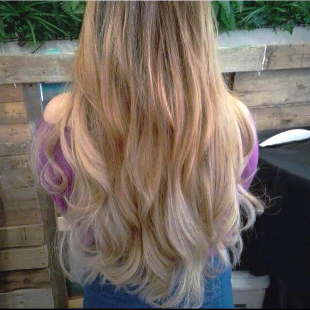 "22"" Ombré Clip In Hair Extensions"