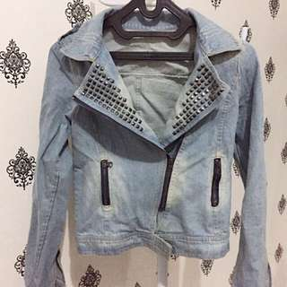 Jacket Jeans size fit to L