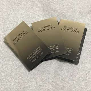DAVIDOFF 💯Authentic Horizon Vial Spray Perfume