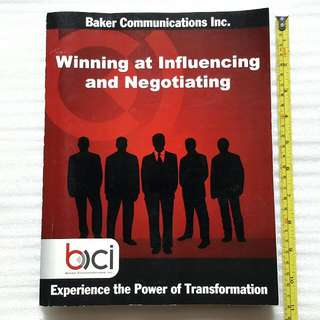 Winning At Influencing And Negotiating