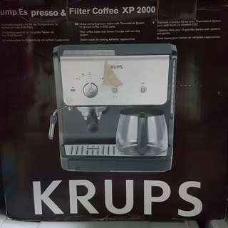 Krups Pump Espresso & Filter Coffee Maker #dec30