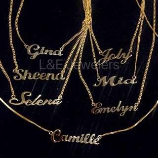 Personalized Jewelries