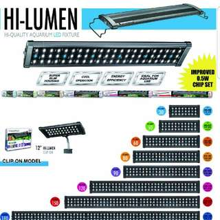 YEAR END SALES!!! BRAND NEW BEAMWORK led light for fish tank. C/w 6 months warranty!!!