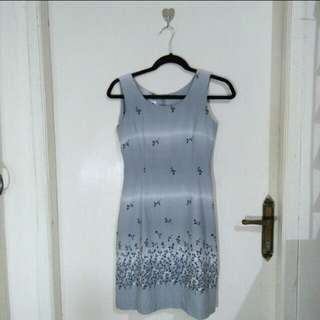 Grey minidress
