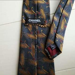 Embroidered Chanel Nexktie