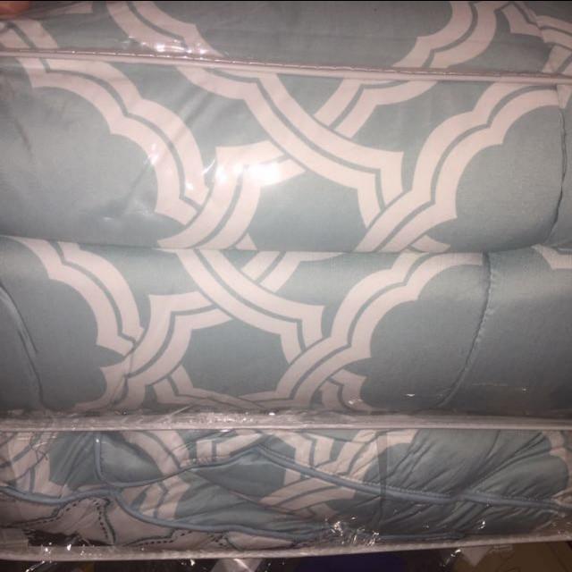 7 piece comforter bed set