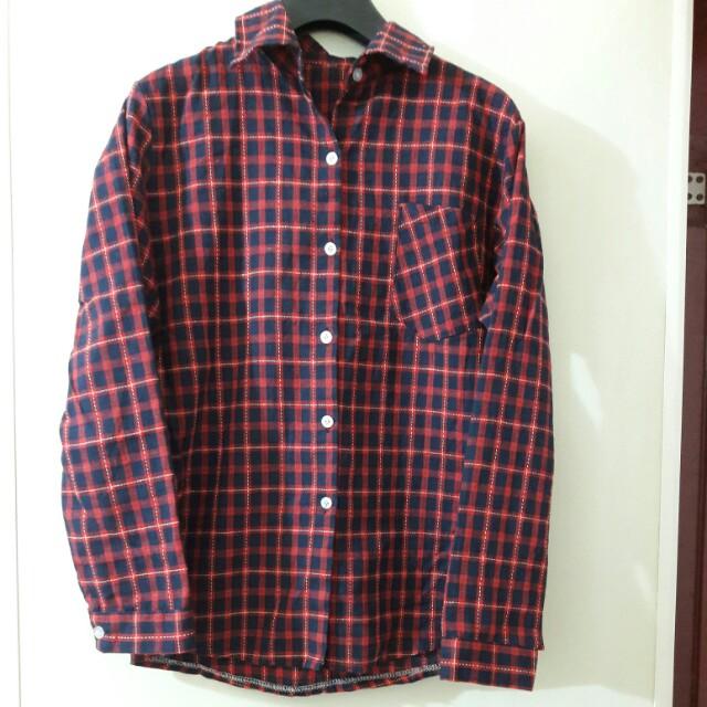 格子襯衫(含運)